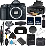 6Ave Canon EOS 70D DSLR Camera (Body Only) International Version (No Warranty) + Epson SureColor P600 Inkjet Printer + 16GB & 32GB SDHC Class 10 Memory Card + Carrying Case Bundle