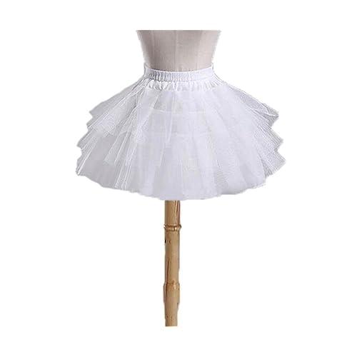EnjoyBridal Baby Kids Puffy Petticoat Ballet Flower Girl Underskirt Crinoline Tutu