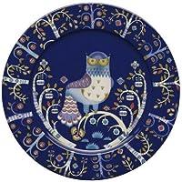 Iitala Taika Flat Plate (Large), Blue by Iitala