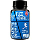 Extra Strength Natural Joint Pain Relief & Repair, Knee Pain Relief, Cartilage Rebuild, Scientifically proven Formula contains Glucosamine Chondroitin MSM Broswellia and Collagen, Made in USA