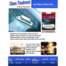 Aquapel Glass Treatment By PGW 6 Single Use Applicators PPG