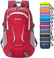 ZOMAKE 40L Lightweight Hiking Backpack with Wet Porket, Packable Travel Backpack Daypack for Women Men