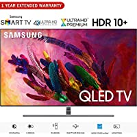 Samsung QN75Q7FNA 75 Q7FN QLED Smart 4K UHD TV (2018 Model) - (Certified Refurbished) with 1 Year Extended Warranty