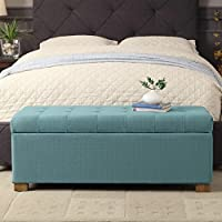 HomePop ( Laguna ) Large Tufted Storage Bench