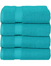Utopia Towels Premium Bath Towels (27 x 54 inches Towels) 100% Ring-Spun Cotton Towel Set for Hotel and Spa, Maximum Softness and Highly Absorbent