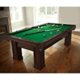 Brunswick Billiards Oakhill Billiard Table Package with Table Tennis Conversion Top
