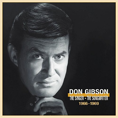 CD : Don Gibson - Singer Songwriter 1966-1969 (Boxed Set, With Book, 4 Disc)