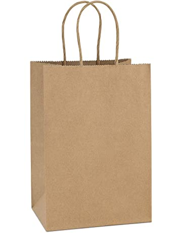 e32bfc2459ac BagDream Kraft Paper Bags 100Pcs 5.25