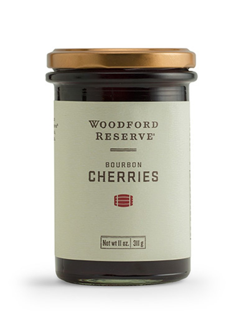 BOURBON BARREL FOODS WOODFORD RESERVE BOURBON CHERRIES WRCC