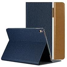 iPad Mini 4 Case, AUAUA iPad Mini 4 Leather Case with Smart Cover Auto Sleep/Wake +Screen Protection Film For Apple iPad Mini 4, 7.9 inch Apple Tablet (iPad Mini 4, Brown)