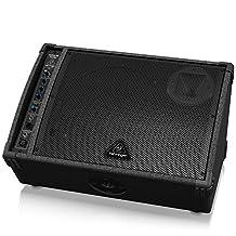 Behringer F1220A Active 125-Watt Monitor Speaker, 12-Inch Woofer, 1-Inch Comp. Driver, Feedback Filter