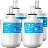 AQUACREST DA29-00003G Replacement Refrigerator Water Filter, Compatible with Samsung DA29-00003G, DA29-00003B, DA29-00003A, Aqua-Pure Plus, HAFCU1 (Pack of 4)