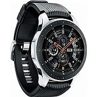 Relógio Samsung Galaxy Watch SM-R800 de 46mm com GPS/Wi-Fi/NFC/Bluetooth - Prata/Preto