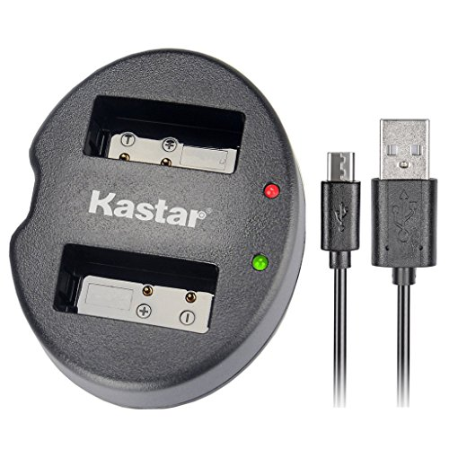Kastar Dual USB Charger for Canon LP-E12 and Canon EOS 100D, EOS Rebel SL1, EOS M Camera System & Canon LPE12 Grip