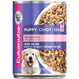 Eukanuba Wet Food 10154715 Puppy With Lamb & Rice Canned Dog Food 13.2 Oz (Pack Of 12)