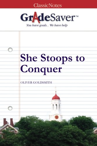 She Stoops To Conquer Book