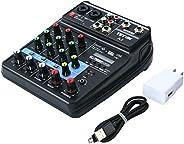 Mini Audio Mixer amplifier Amp Bluetooth board 48V Power 4 Channels