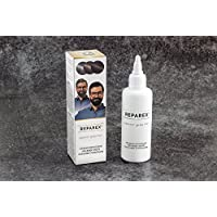 Gray Hair Treatment Formula for Mustache and Beard - For Men Hair Color Restoration and Hair Repair by Reparex. Natural Facial Hair Repair - Better than Hair Dye. Anti-Gray Hair Solution, Safe, Easy to Use & Apply. Get Your Natural Hair Color Back Today!