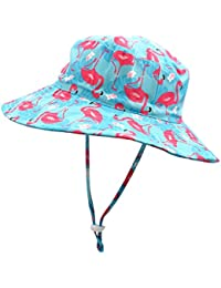 Kids UPF50+ Safari Sun Hat Breathable Bucket Hat Summer Play Hat