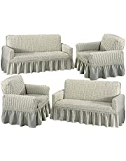 Set cover for sofa 4 pieces for 8 persons