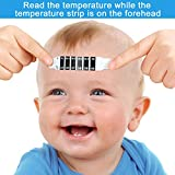100 Pieces Baby Forehead Thermometer Strips Instant