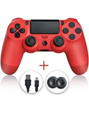 Zcity PS4 Controller, Wireless Gamepad Controller Dualshock Bluetooth Wireless Game Controller for Playstation 4 (PS4 Red)