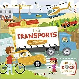 Book's Cover of Les transports (Français) Relié – 1 octobre 2016