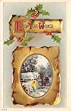New Years Day Postcards Old Vintage Antique Post