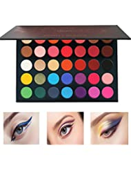 Eye Shadow Glitter 20 Colors Eyeshadow Palette Eyeliner Pigment Mascara Makeup Kit For Daily Eye Palette Maquillage Yeux Beauty Glazed #68 Beauty Essentials