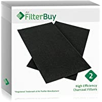 2 - FilterBuy Hunter 30901 Replacement Pre Filters. Designed by FilterBuy to be Compatible with Hunter QuietFlo Air Purifiers.