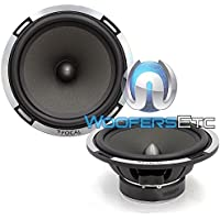 Pair of Focal 6PS-2 Ohm 6.5 Polyglass 75 Watts RMS Midrange Speakers from PS-165V Component Set