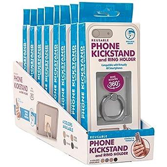 Reusable Phone Kickstand and Ring Holder