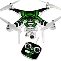Skin For DJI Phantom 3 Standard – Bio Glare | MightySkins Protective, Durable, and Unique Vinyl Decal wrap cover | Easy To Apply, Remove, and Change Styles | Made in the USA