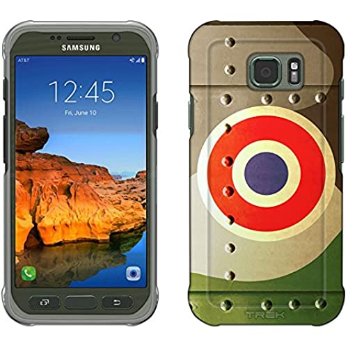 Samsung Galaxy S7 Active Case, Snap On Cover by Trek French Air Force War Plane Fuselage Slim Case Sales