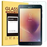 Galaxy Tab A 8.0 2017 Screen Protector - SPARIN Bubble Free, Anti-Scratch, 9H Hardness, HD Clear, Tempered Glass Screen Protector for Samsung Galaxy Tab A 8.0 (4G Model) 2017 new released