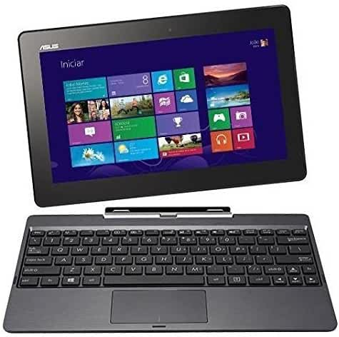 Asus Transformer Book 10.1-inch 32GB Detachable 2-in-1 Touch Laptop/Tablet T100TA With Keyboard Dock - Grey (Certified Refurbished)