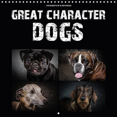 Great Character Dogs 2018: Whether Strong Character Dachshund, Funny Chihuahua, Serious Boxers or Noble German Shepherd - 12 Dog Portraits Accompany You Throughout the Year! (Calvendo Places)