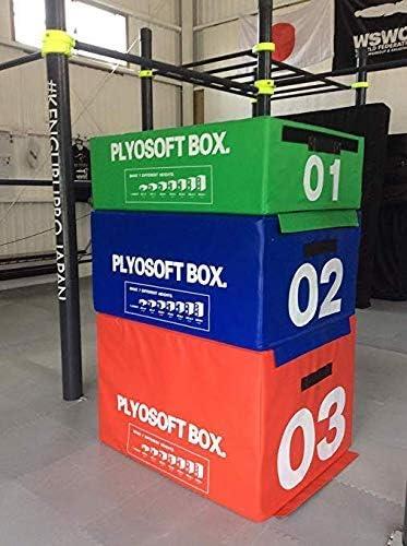 【サイズ自由に選べます】PLYO BOX クロスフィット とび箱 体操マット ウレタンブロック ジャンプ台 crossfit プライオメトリックス 緑 高さ30cm