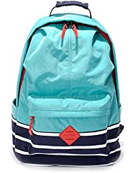 Hiigoo Nylon Casual Backpacks Waterproof Oxford Shoulders Bags Satchels