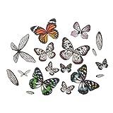 Tim Holtz, Advantus Transparent Wings, white 72 Count