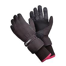 Heat Holders - Womens Warm Waterproof Insulated Thermal Winter Ski Gloves (Medium / Large)