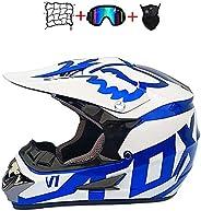 BITM Motorcycle & Powersports Helmets Kids Motocross Offroad Street Helmet Kids Cross Helmet Designed with