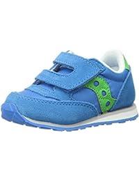 Boys' Baby Jazz HL Sneaker, Blue/Green, 6.5 Medium US Toddler