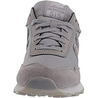 New Balance Women's 515 V1 Sneaker, Marblehead/Rain Cloud/Rose Gold Metallic, 5 W US