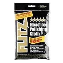 Flitz MC200 Thick 'N Thirsty 16 by 16-Inch Silver Microfiber Polishing Cloth