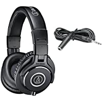Audio-Technica ATH-M40x Closed Back Monitor Headphones w/ Extension Cable