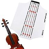 Aileen Violin Fingerboard Sticker Fret Guide Label Position Indicator for 4/4 3/4 1/2 1/4 1/8 Size (4/4)