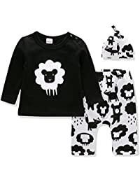 Baby Clothes Boys and Girls Clothing Set Long Sleeve...