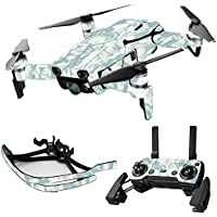 MightySkins Skin for DJI Mavic Air Drone - Blue Seashells | Max Combo Protective, Durable, and Unique Vinyl Decal wrap cover | Easy To Apply, Remove, and Change Styles | Made in the USA
