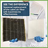 ECOGARD XC36080 Premium Cabin Air Filter Fits Acura